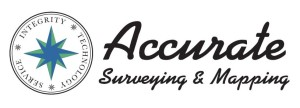 Accurate Surveying Logo